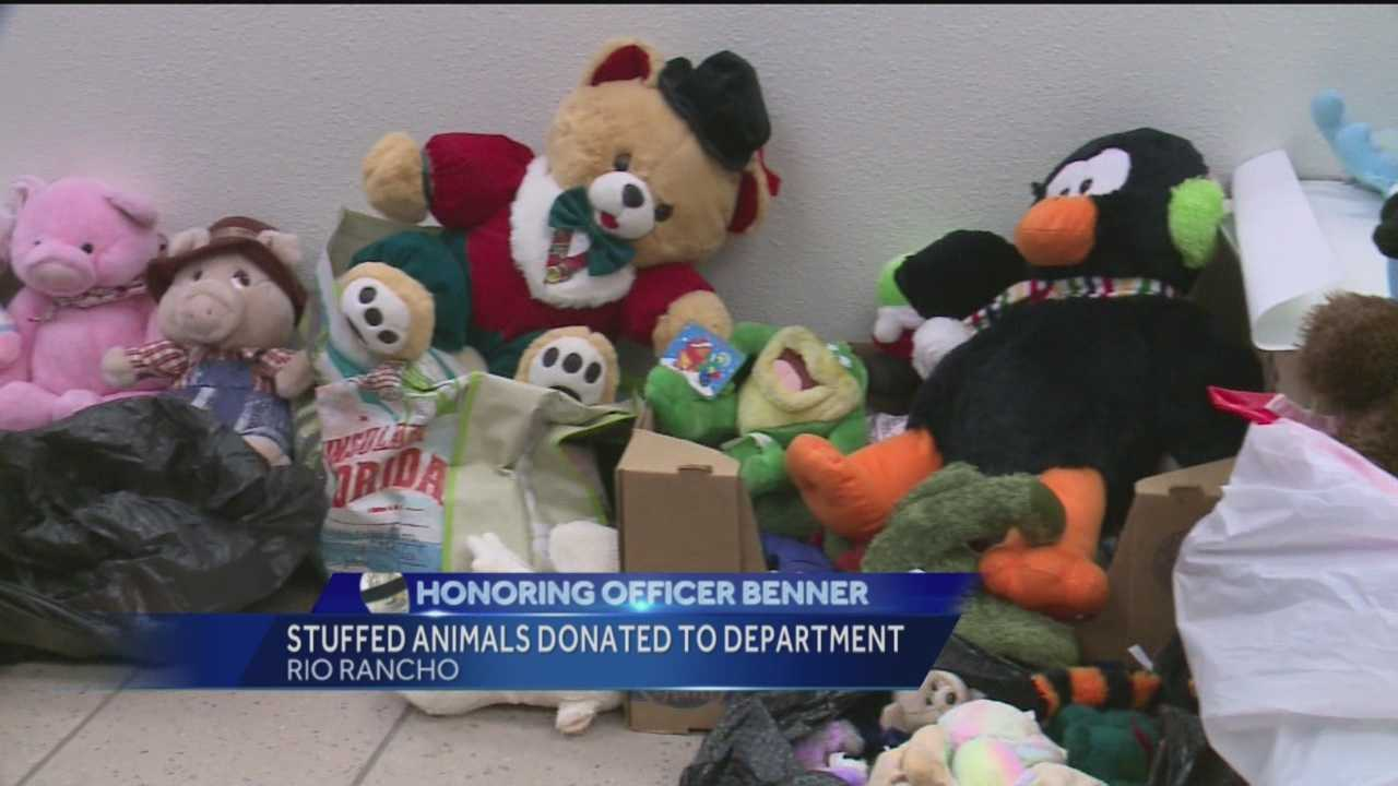 An officer tragically killed in the line of duty continues to bring support to the people of Rio Rancho.