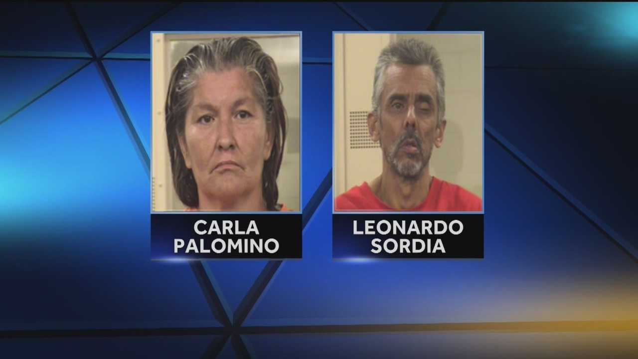 Police said the grandparents of one of the young suspects are in trouble after they tried to stab a man who they believe snitched on their grandson