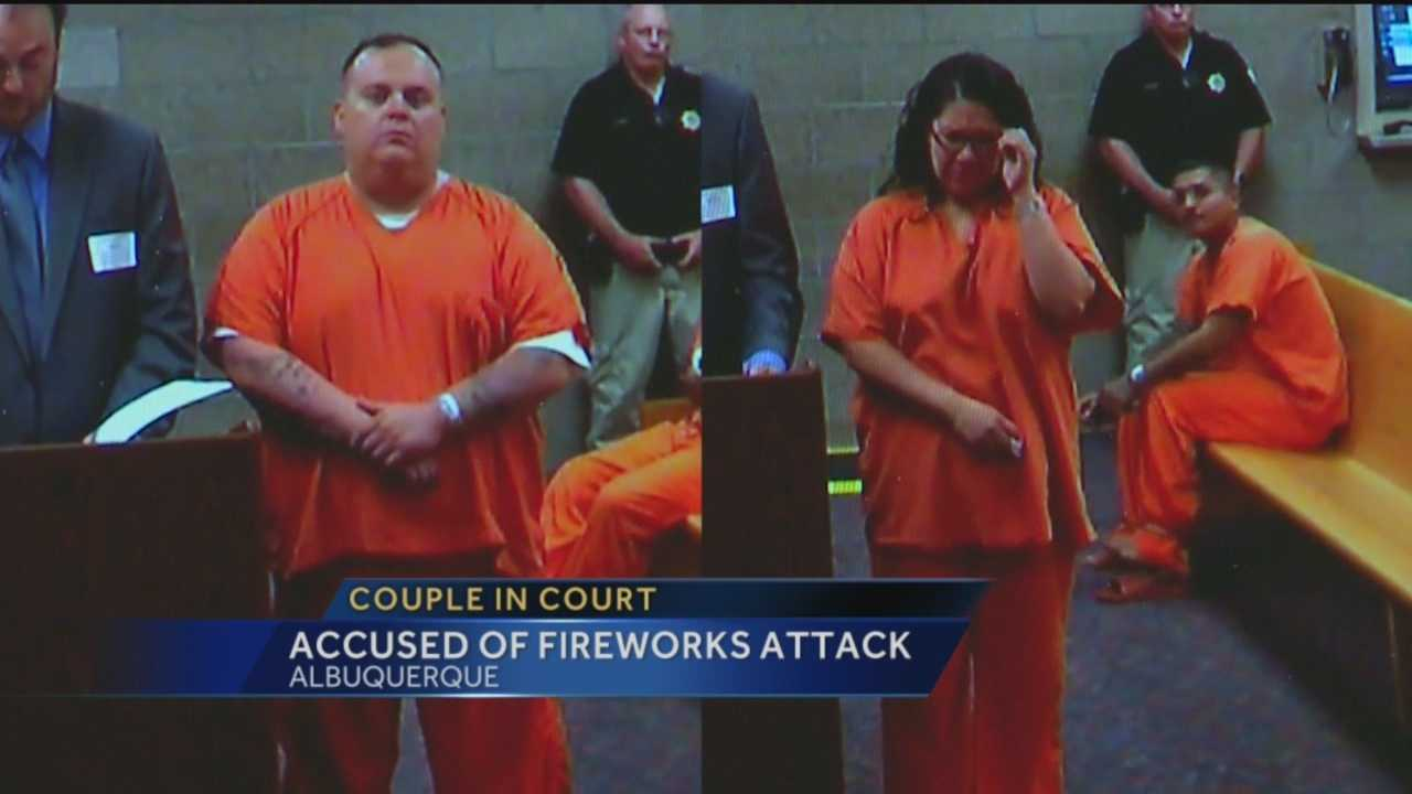 On Thursday, a judge deemed the duo accused of lighting a homeless man on fire with fireworks a danger to the community.