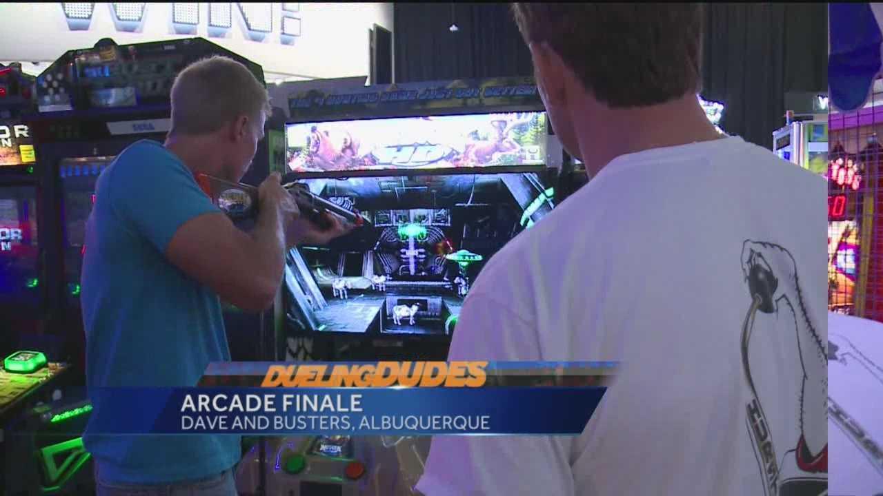 Dueling Dudes Arcade Finale