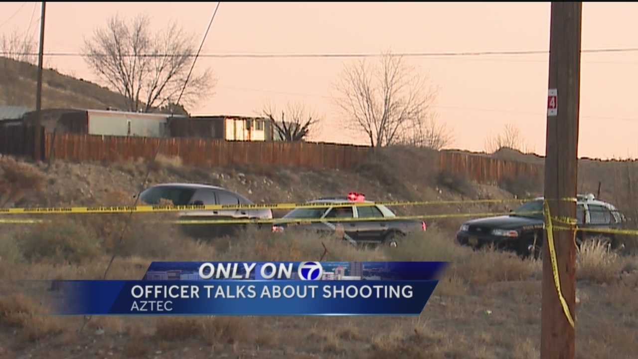 For the first time, we're hearing why a State Police officer said he had to shoot and kill a man during a standoff.