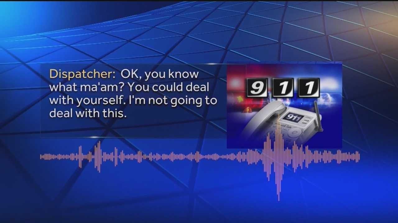 Dispatcher's license suspended following 911 hang-up