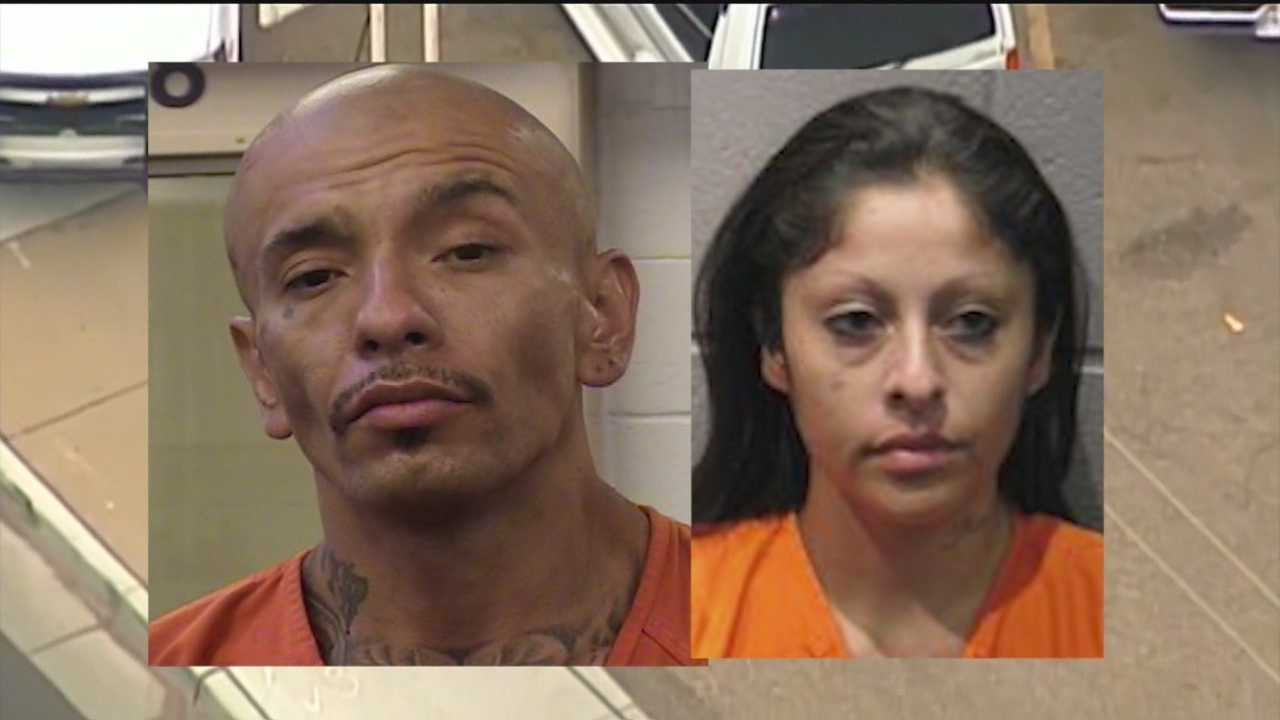 Two carjacking suspects were arrested Wednesday, and it wasn't the first time the pair had been in handcuffs.