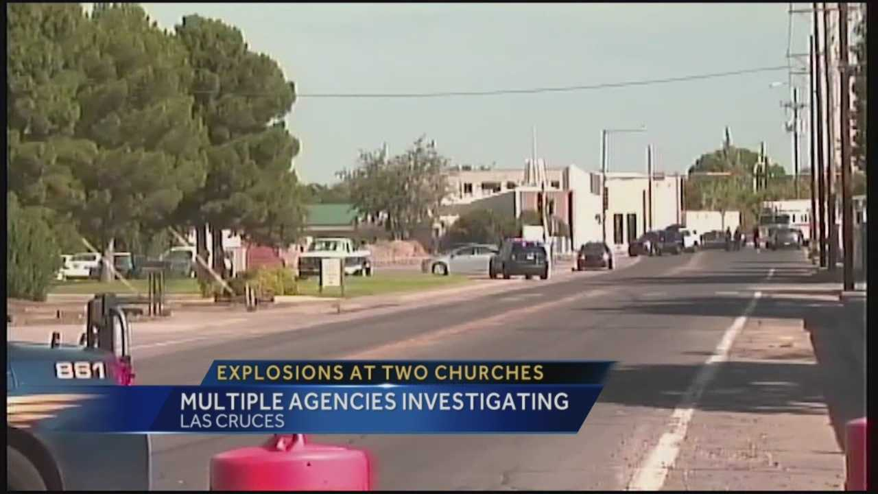 Explosions at Two Churches: Multiple Agencies Investigating