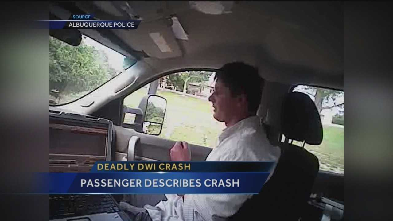 New video released by Albuquerque police sheds light on what happened in the seconds before a deadly July crash.