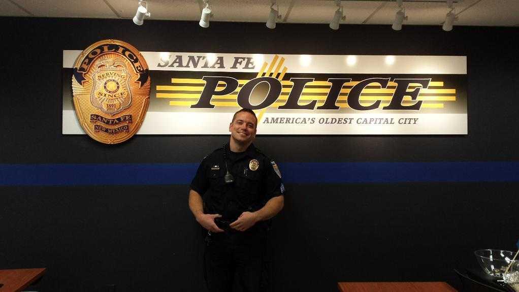 Santa Fe Police Sgt. Paul Joye