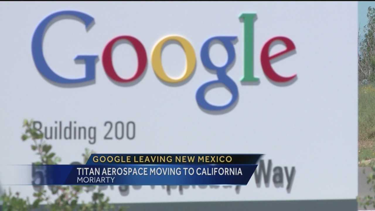 Google is leaving New Mexico, and Reporter Sandra Ramirez has the story.