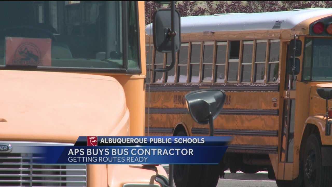 APS Buys Bus Contractor