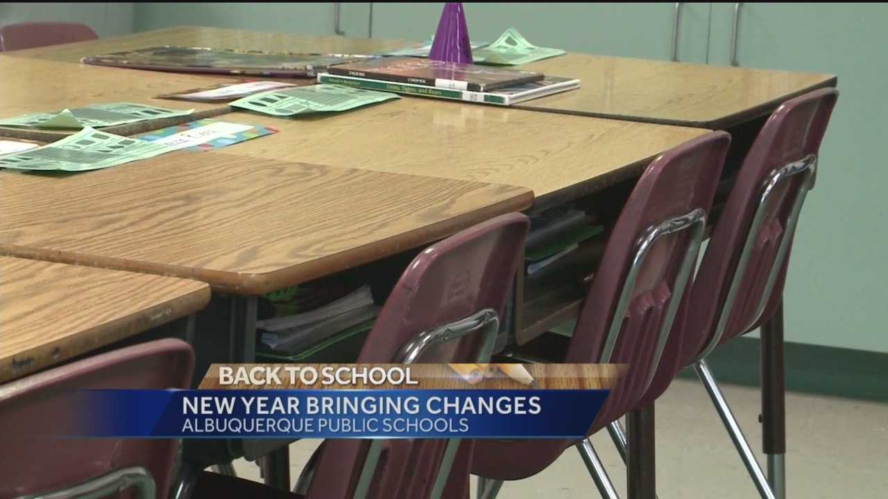 Thursday is the start of a new year for thousands of students in Albuquerque, and a lot has changed since last school year.