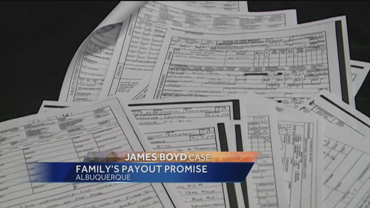Boyd's family promised they would use the money to help prevent other people from ending up in the same situation.