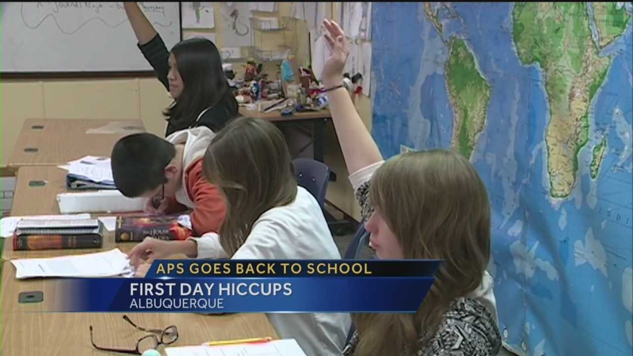 It's the day most parents look forward too -- the first day of school. Action 7 News finds out how it went for APS.