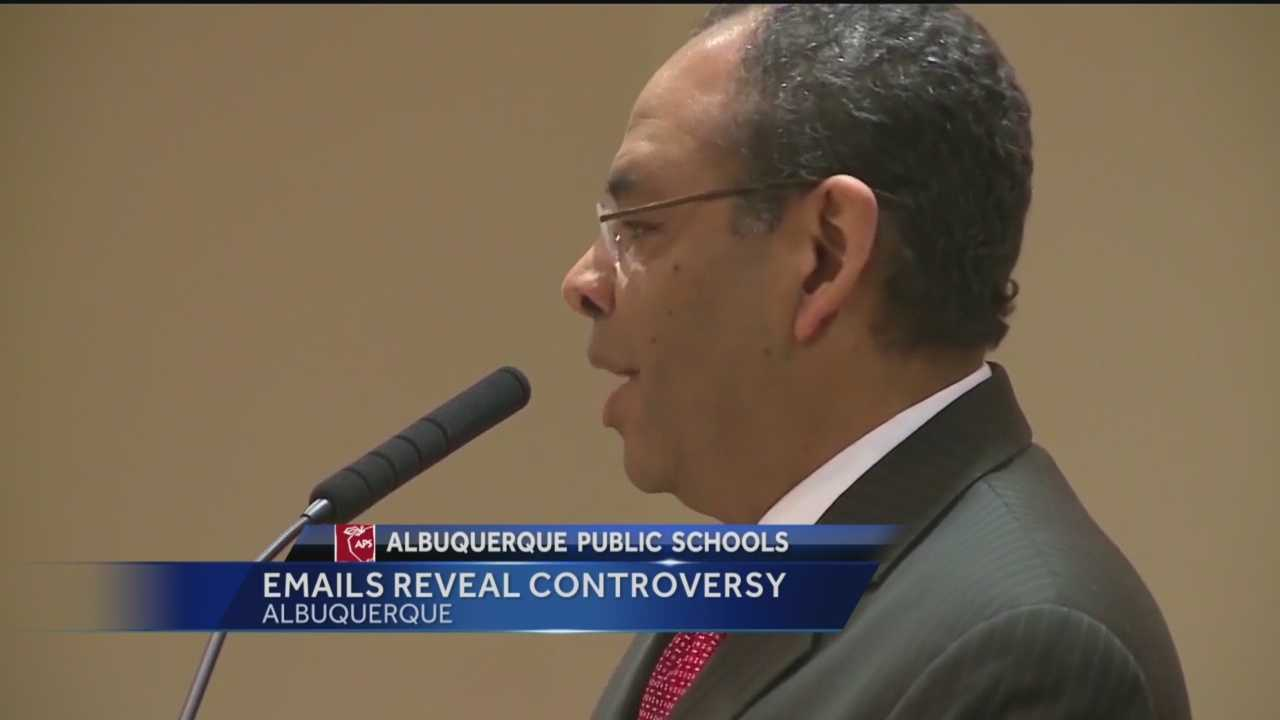 Internal emails may explain, why Albuquerque Public Schools' Superintendent suddenly put his CFO on leave.