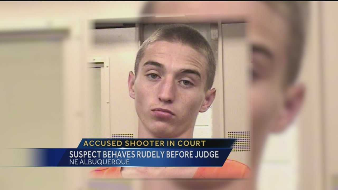 An 18 year old accused of shooting and killing a Monzano High student appeared in court today.