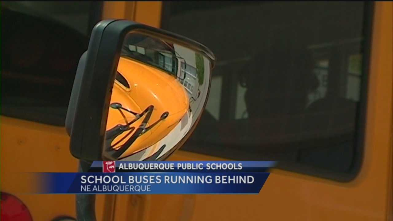 A shift in schedule for high school students in Albuquerque is causing some problems.