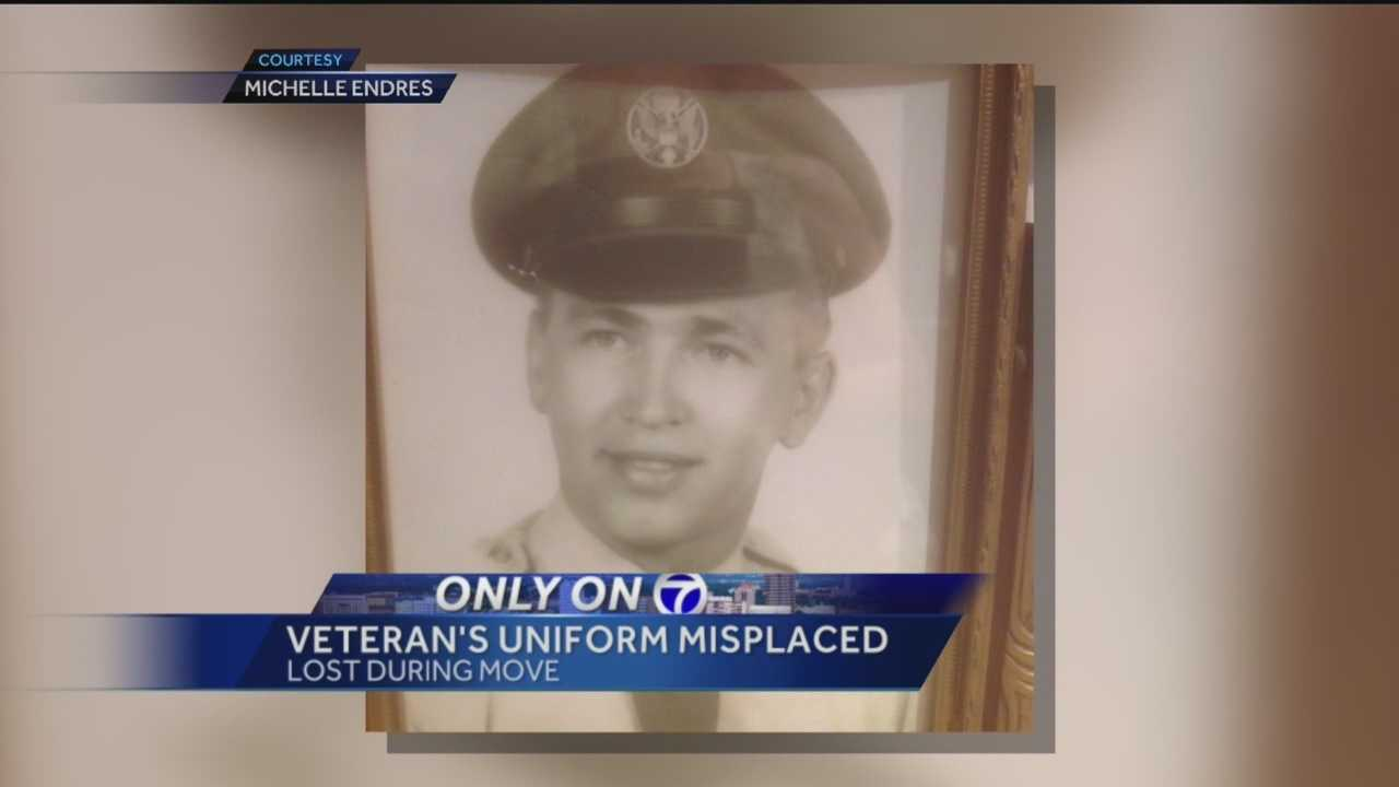 Michael Buchkoski has a simple request: to be buried in his Air Force uniform.