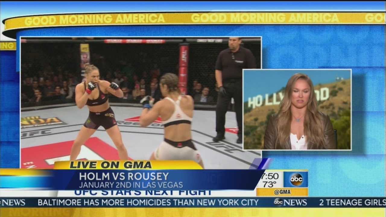 Albuquerque's Holly Holm is getting her shot at Batamweight Champion Ronda Rousey.