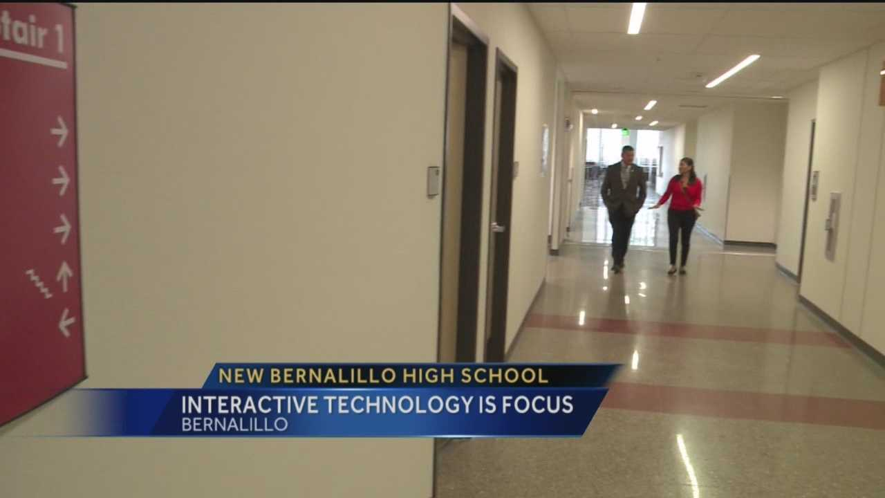 There's a new, exciting vibe on the Bernalillo High School campus.