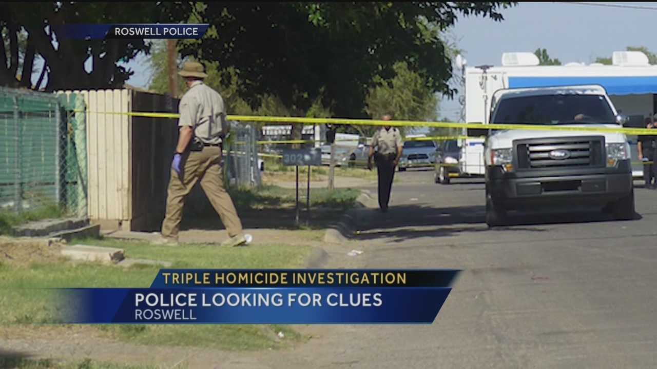 Roswell Police found a gruesome scene Saturday morning.