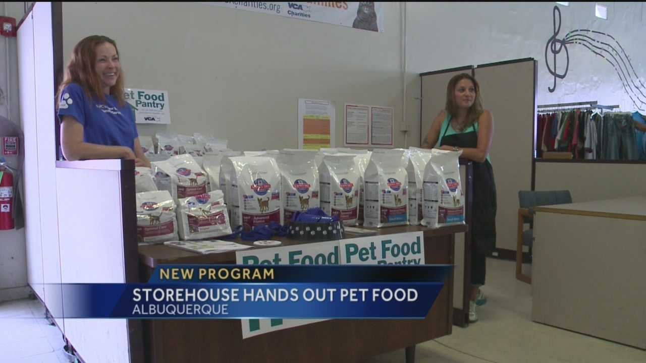 Albuquerque is now one of thirty cities nationwide helping low income and homeless people take care of their pets.
