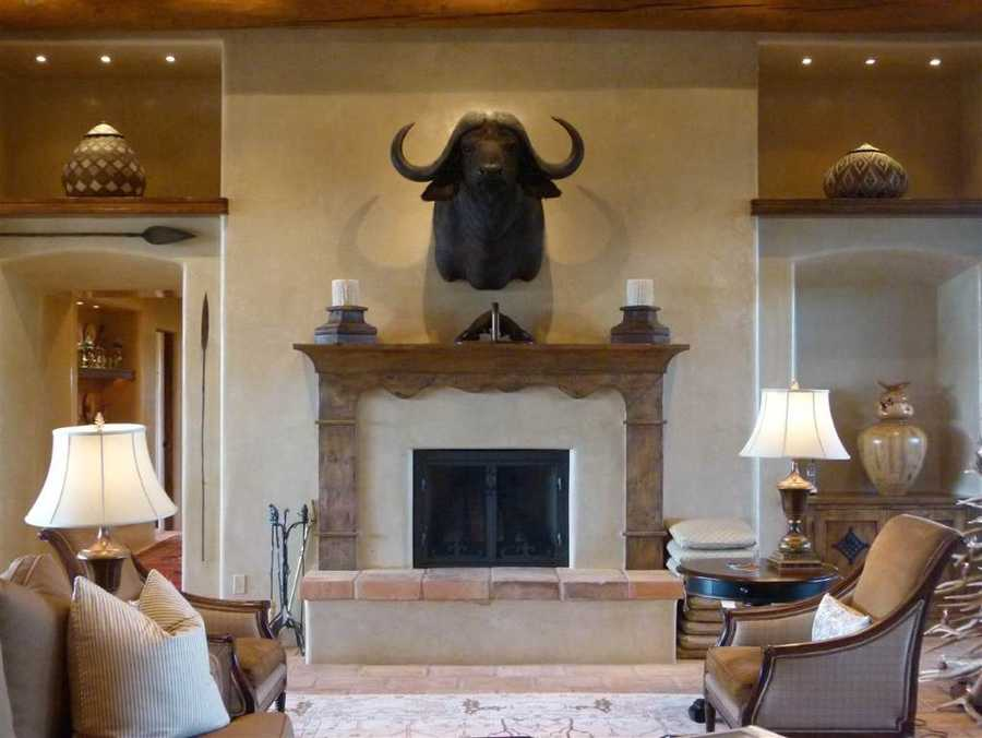 Take a peek inside this 6,740 square foot home for sale in Santa Fe that's featured on Realtor.com.