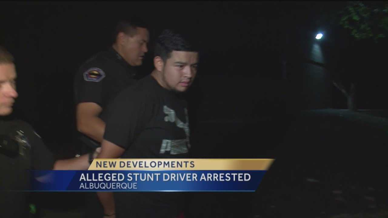 """Albuquerque police arrested Ivan Alejandro Guardado-Fuentes, 18, in connection with a """"doughnut"""" stunt that temporarily shut down Interstate 25."""