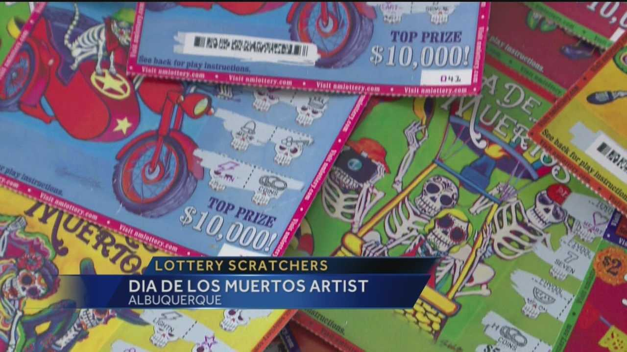 "Some of the most popular lottery scratchers have a ""Day of the Dead"" theme. Anchor Royale Da spoke exclusively to the local artist who created them."