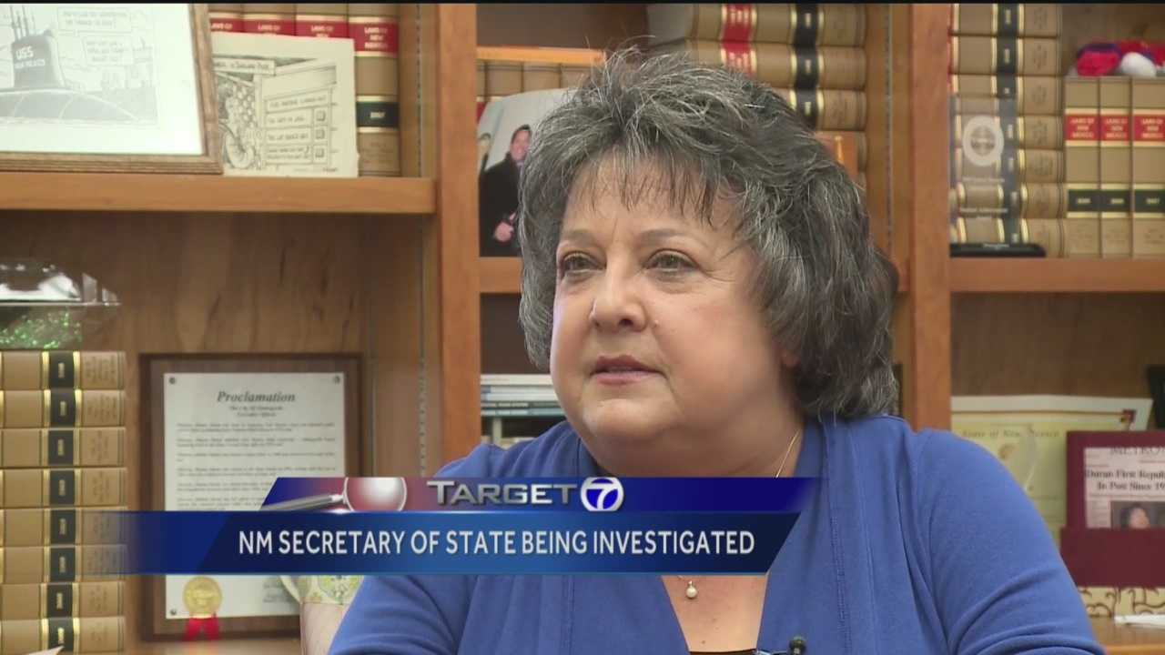 New Mexico's Democratic attorney general has filed a complaint in state district court, accusing Republican Secretary of State Dianna Duran of embezzlement, money laundering and other campaign finance violations.