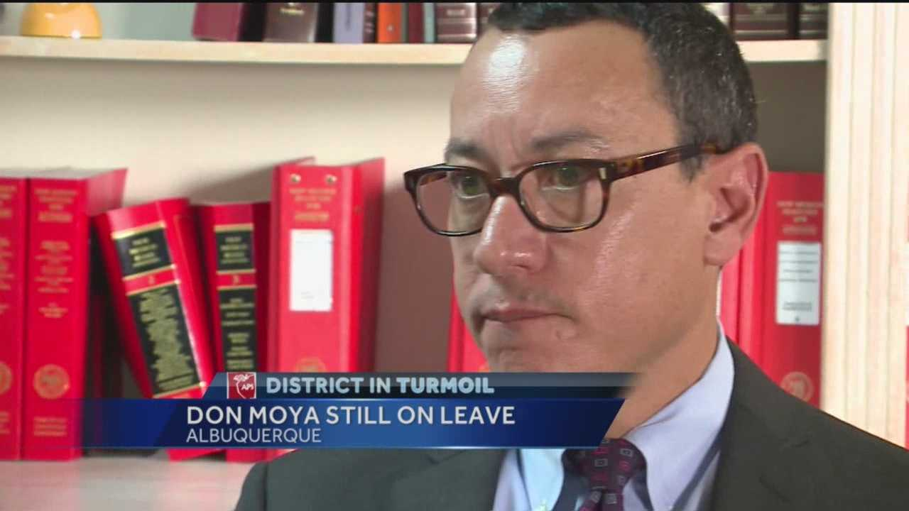 With the superintendent gone, it remains unclear what will happen to the Albuquerque Public Schools chief financial officer he put on leave.