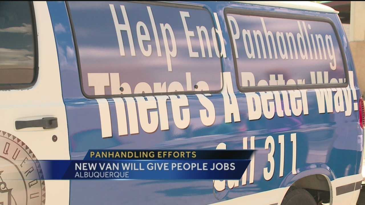 The city has a new way to curb panhandling.