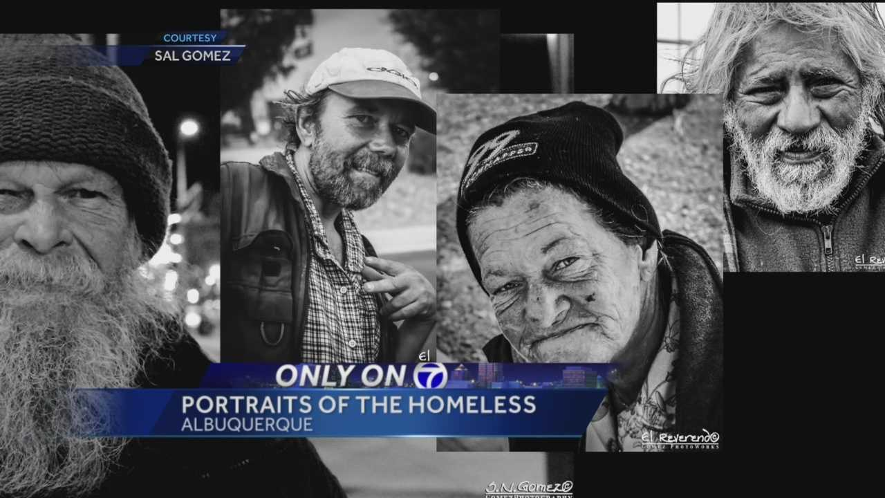 A look at Albuquerque's homeless in black and white.