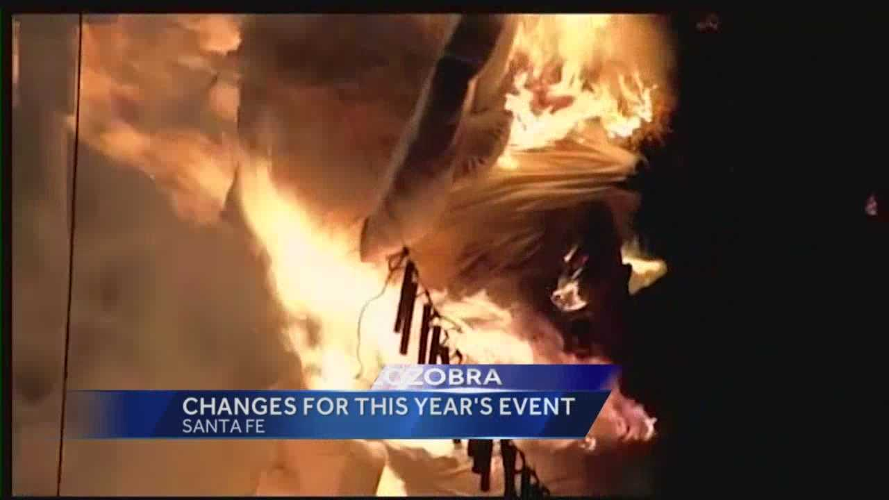 Zozobra: Changes for This Years Event