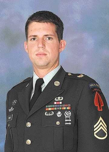 Army Sgt. 1st Class Christopher Speer was killed in combat on Aug. 6, 2002. He was 28.