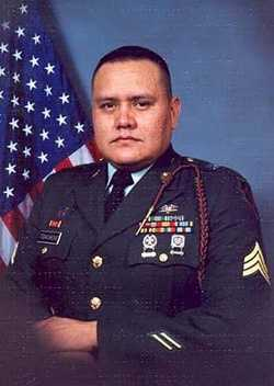 Army Sgt. Lee Todacheene died on April 6, 2004. He was 29.