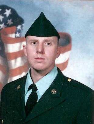 Army Spc. Christopher Merville died on Oct. 12, 2004. He was 26.