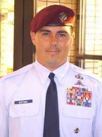 Tech Sgt. Scott Duffman died on Feb. 18, 2007. He was 32.
