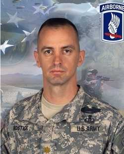 Army Major Thomas Bostick died on July 27, 2007. He was 37.