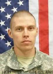 Army Pvt. Charles M. High died on Aug. 17, 2010. He was 21.