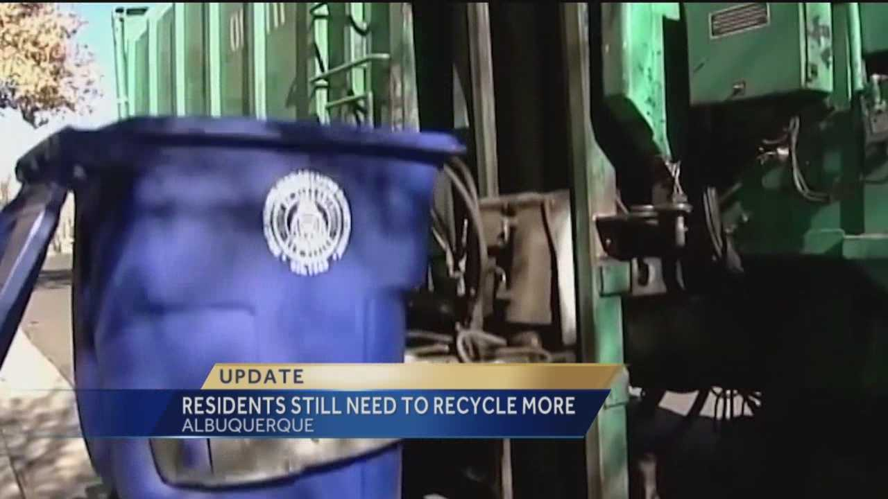 The city of Albuquerque wants residents to pay attention to what they throw away