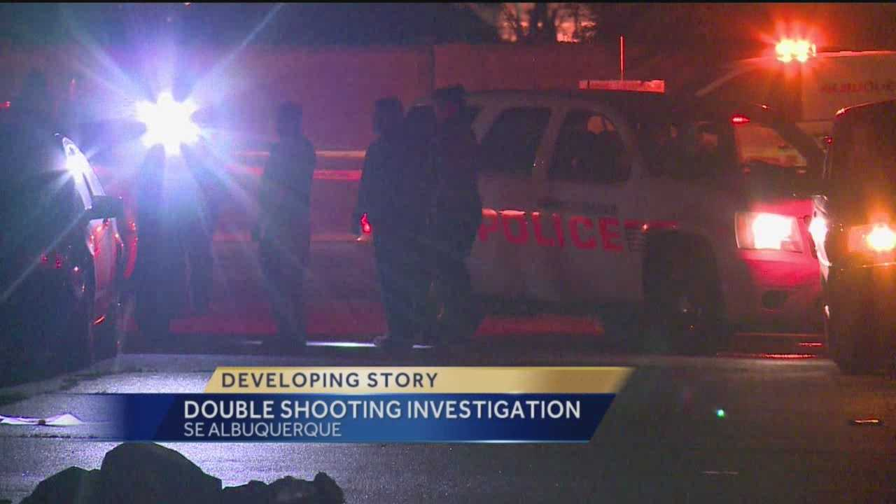 Double Shooting Investigation