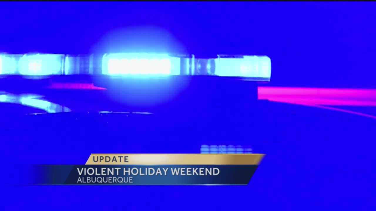Albuquerque police were busy with three homicide scenes in three days this past Labor Day weekend.
