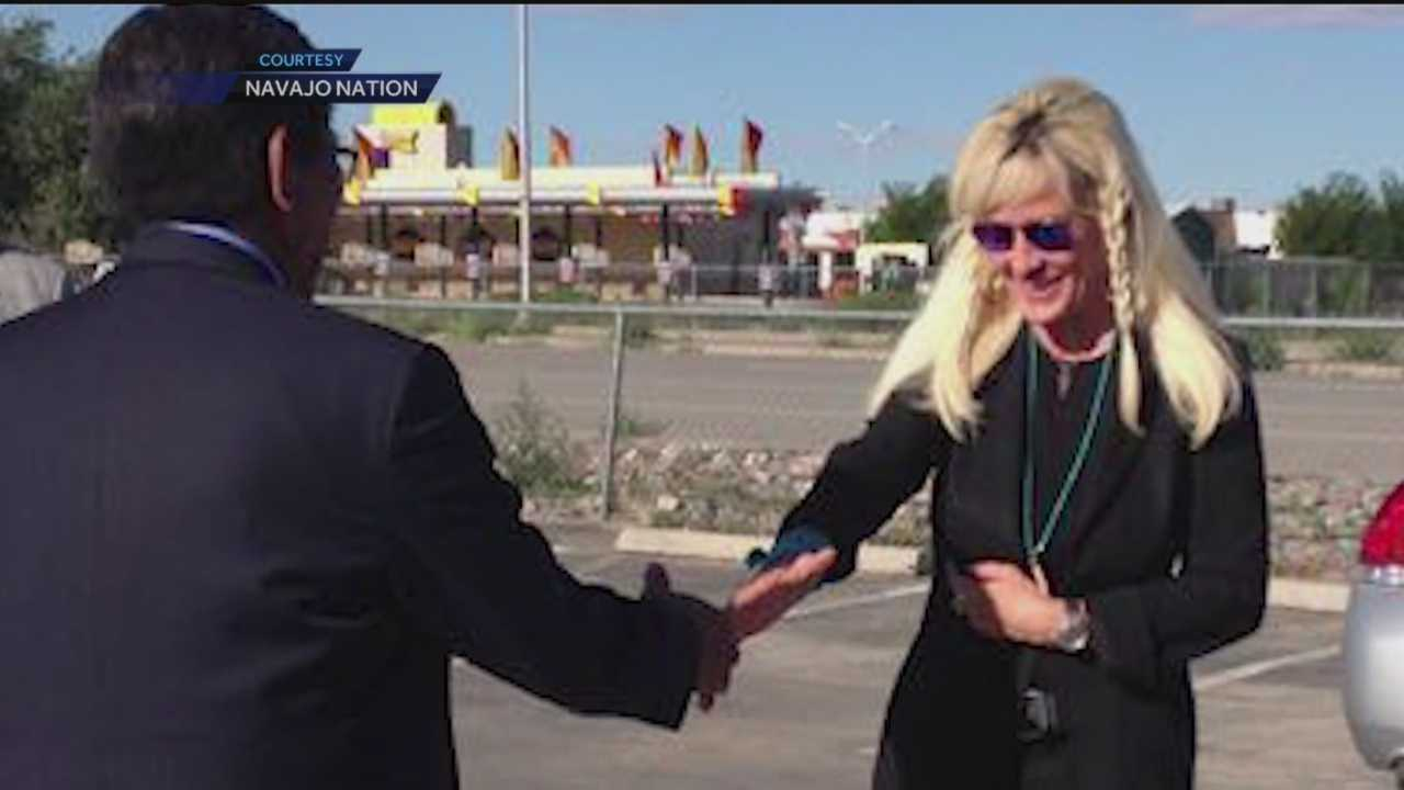 Environmental activist Erin Brockovich is touring the Navajo Nation to get a firsthand look at the damage caused by the spill of wastewater from a Colorado mine.