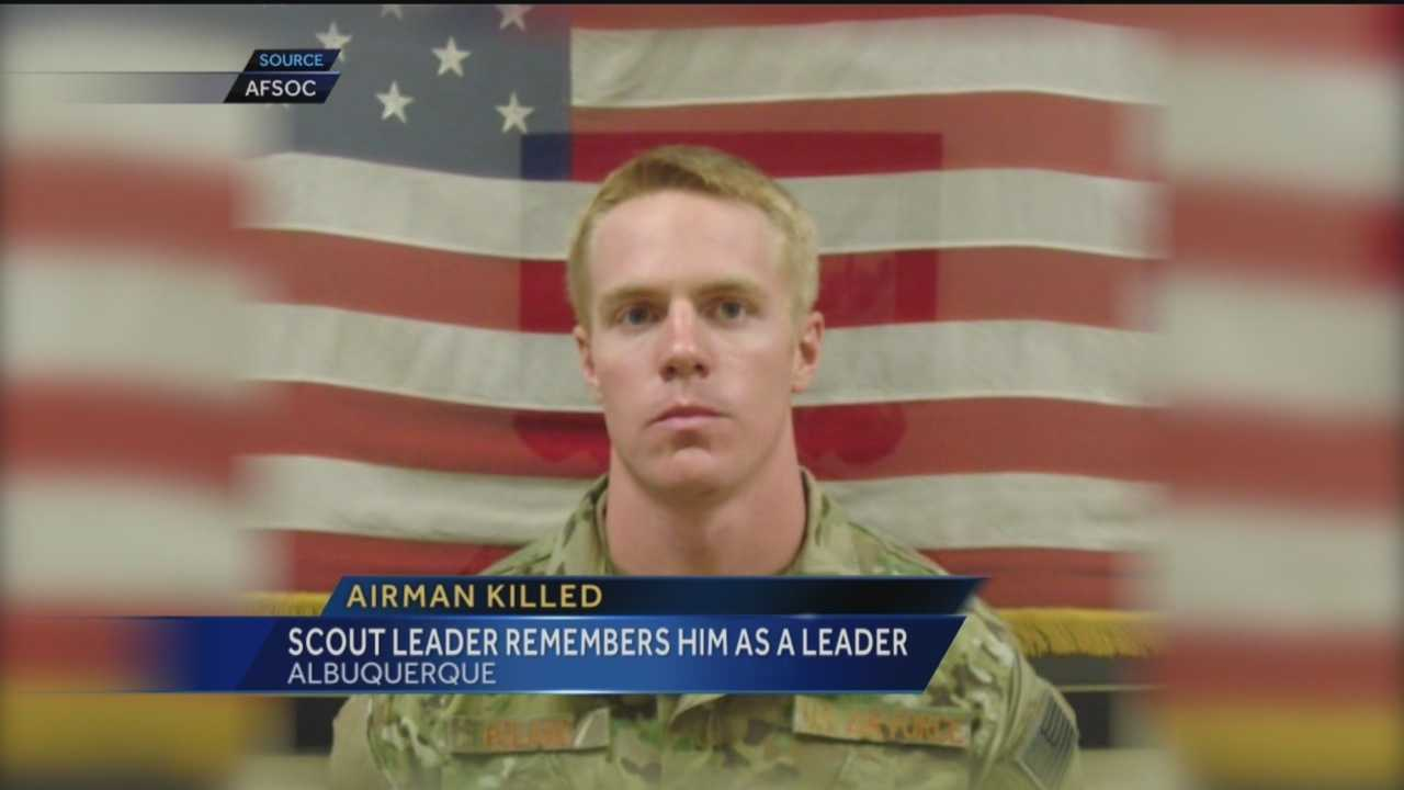 An Air Force captain that spent his boyhood years as a Boy Scout in New Mexico died last month in Afghanistan.