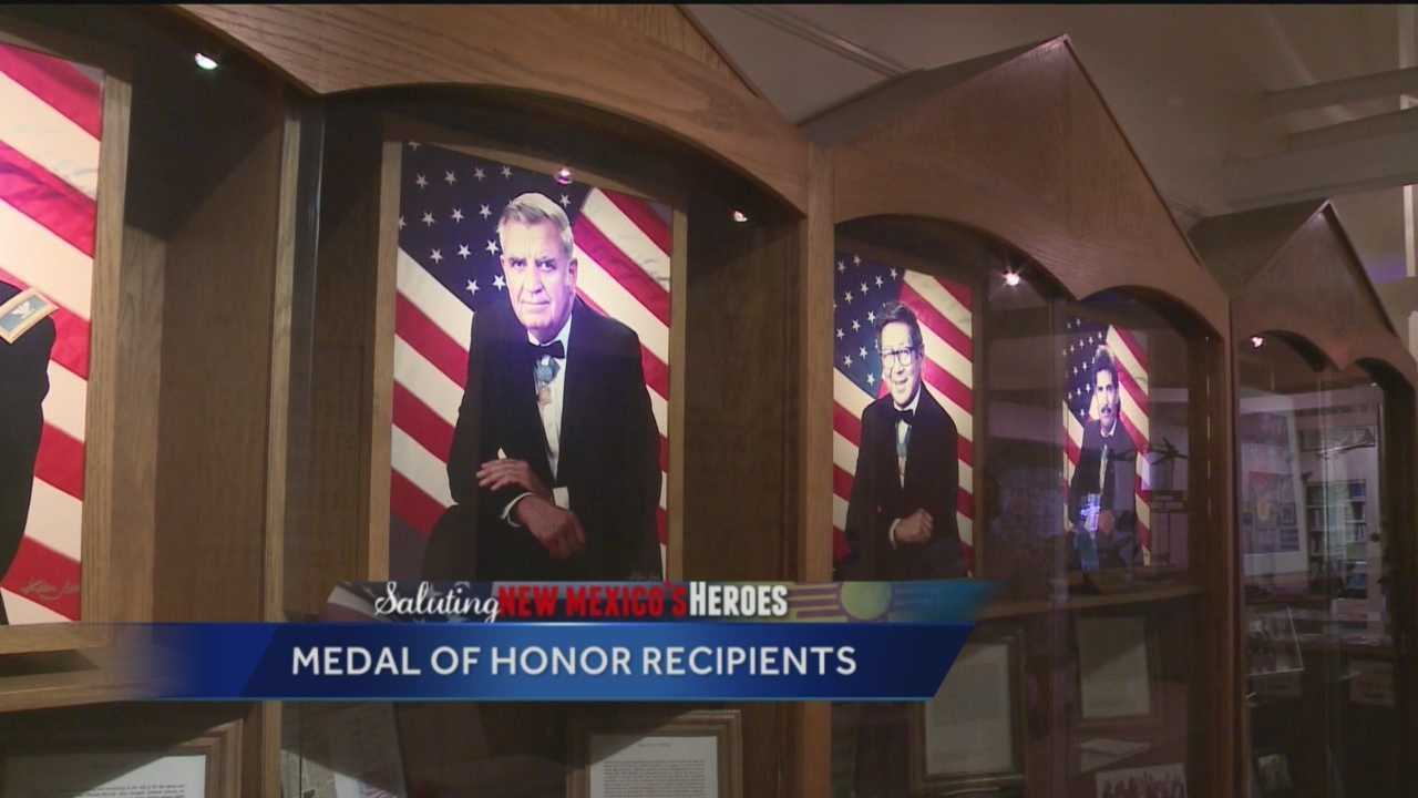 Byron Morton shows us the select few New Mexicans who've received the highest military honor.
