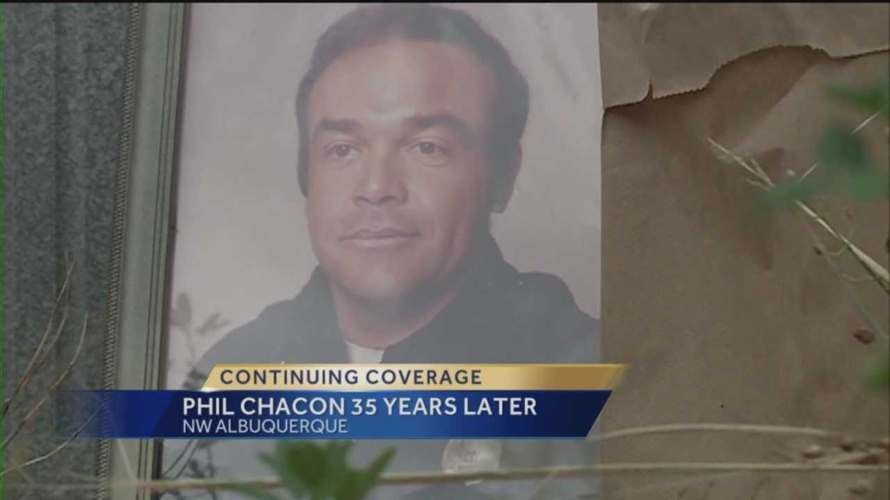 35 years to the day after an Albuquerque police officer was gunned down and still no justice.