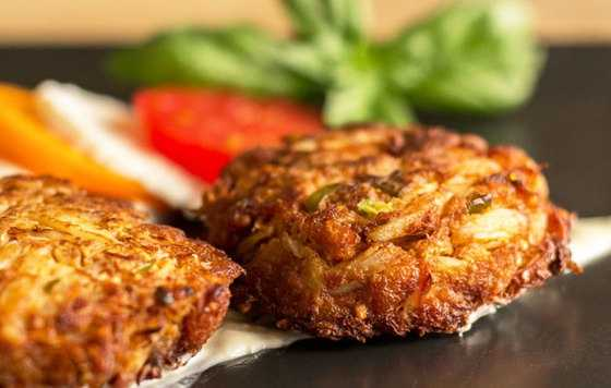 Green Chile Crab Cakes by u local user Mjskitchen. CLICK HERE for the recipe