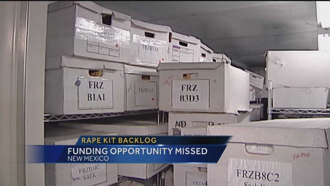 Earlier this year, the U.S. Department of Justice announced a $24 million grant to help clear the backlog of unprocessed rape kits around the country, but New Mexico's largest law enforcement agencies did not apply for the funding.