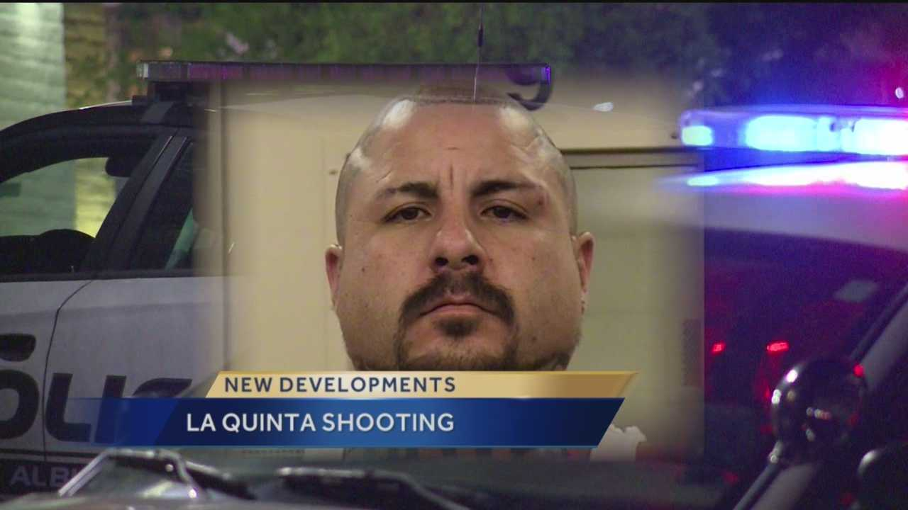 A man is facing charges after shooting a man at an Albuquerque La Quinta Inn early Monday.