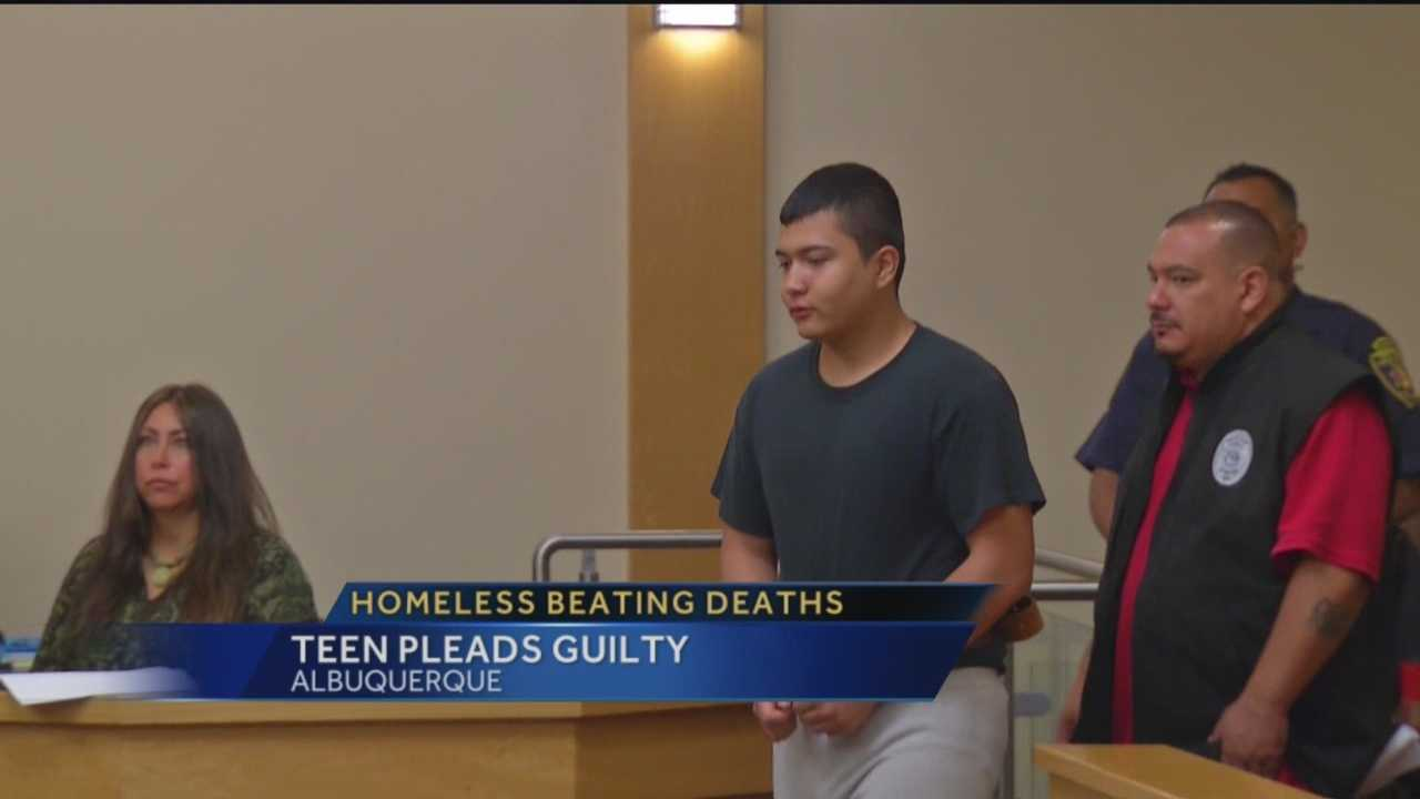 One of the three teens accused of beating homeless men to death pleaded guilty to second-degree murder charges.