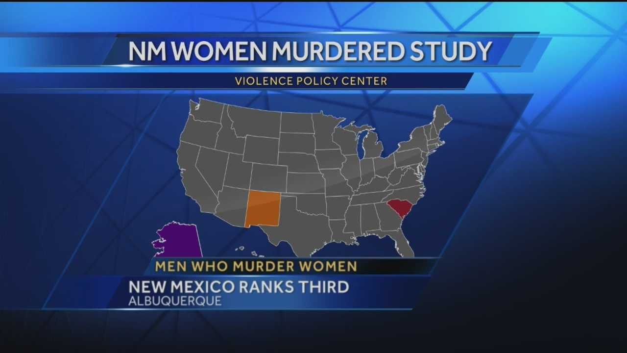 When it comes to states where women are most likely to get murdered, New Mexico ranks third in the nation.