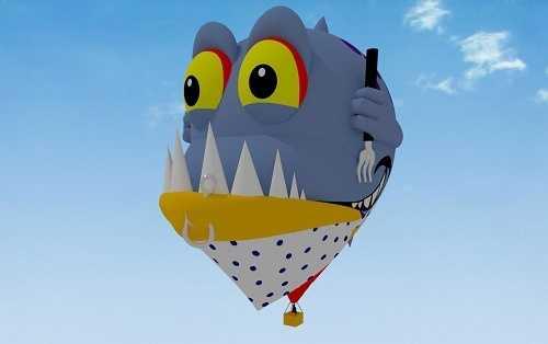 Piranha (Courtesy Albuquerque International Balloon Fiesta)